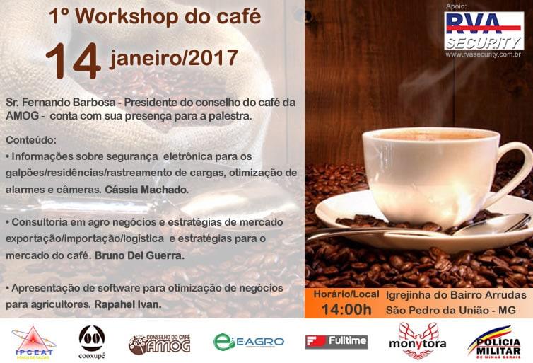 Confira como foi o 1° Workshop do Café em São Pedro da União – MG